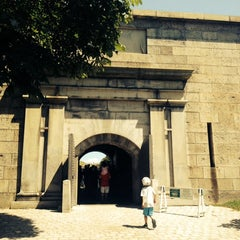 Photo taken at Fort Independence by GalwayGirl on 7/12/2014
