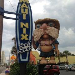 Photo taken at Maui Nix Surf Shop - The Original by Scott R. on 6/17/2013