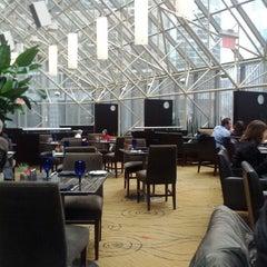 Photo taken at Azure Restaurant & Bar by Dmitry I. on 12/10/2012