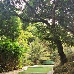 Photo taken at Lanipao Rainforest Mountain Resort (Napo Sapangdaku Guadalupe Cebu City) by Berl_gwapa on 10/13/2014