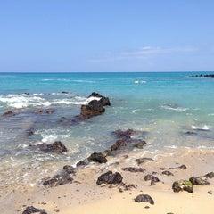 Photo taken at Waialea Beach (Beach 69) by mikey k. on 4/9/2013