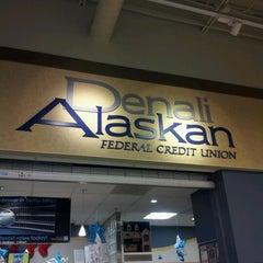 Photo taken at Denali Alaskan Federal Credit Union by Dennis B. on 12/3/2012