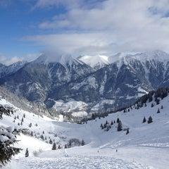 Photo taken at Skigebiet Schlossalm - Angertal / Ski amadé by Juna N. on 2/8/2013