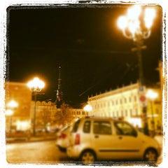 Photo taken at Piazza Carlina by Davide B. on 12/5/2012