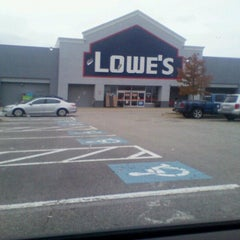 Photo taken at Lowe's Home Improvement by Elizabeth K. on 11/1/2012