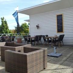 Photo taken at Havencafé Gooimeer by Menno Jan J. on 9/30/2012