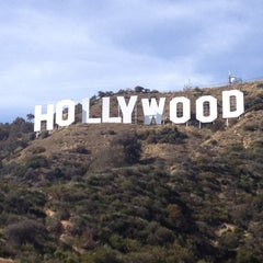 Photo taken at Hollywood Sign by Jacki C. on 4/4/2013