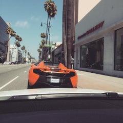 Photo taken at McLaren Beverly Hills by John B. on 7/5/2015