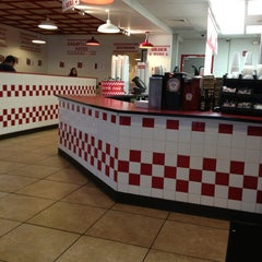 Photo taken at Five Guys by Rene R. on 1/16/2013