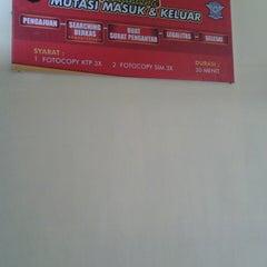 Photo taken at SATLANTAS Polres Malang by ardhian i. on 8/16/2013