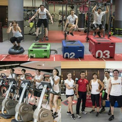 Photo taken at Fitness First Platinum by Yusuf H. on 1/22/2016