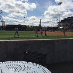 Photo taken at PK Park by Matthew A. on 3/21/2015