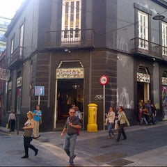 Photo taken at Calle Castillo by Harry V. on 12/29/2012