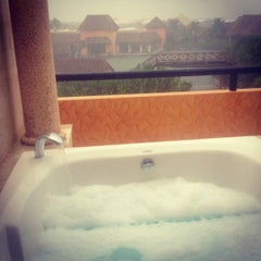 Photo taken at The Royal Suites Yucatán by Antonina K. on 12/12/2012