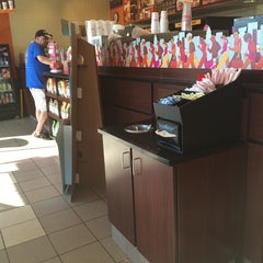 Photo taken at Dunkin' Donuts by Kortney on 7/17/2014