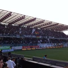 Photo taken at Orogel Stadium Dino Manuzzi by Michele B. on 10/14/2012