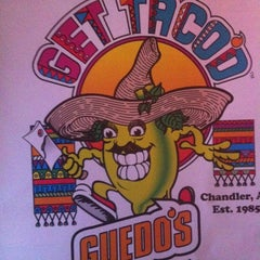 Photo taken at Guedo's Taco Shop by Jason M. on 10/3/2012