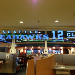 Photo taken at Seattle Seahawks 12 Club by Michael on 4/27/2013