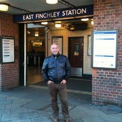Photo taken at East Finchley London Underground Station by Boban J. on 11/16/2012