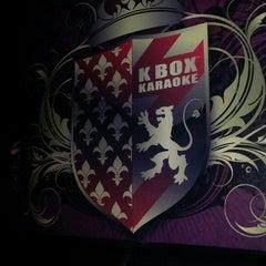 Photo taken at K Box Karaoke Embassy by Rafiqin n. on 10/22/2013
