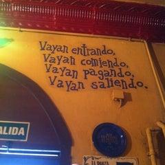 Photo taken at La Panza es Primero by Ruben S. on 5/11/2013