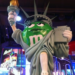 Photo taken at M&M's World by ValeriYA on 2/28/2013