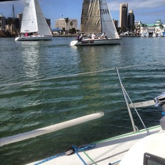 Photo taken at Corpus Christi Yacht Club by Adam R. on 2/15/2014