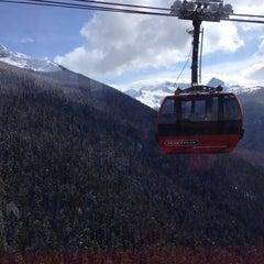 Photo taken at PEAK 2 PEAK Gondola by Brian P. on 3/4/2013