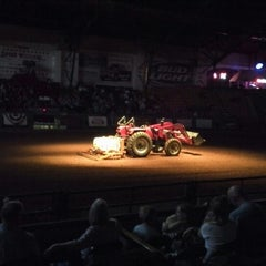 Photo taken at Stockyards Arena & Stables by Juan B. on 8/18/2013