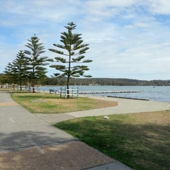 Photo taken at Warners Bay by Hayden F. on 11/17/2012