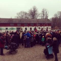 Photo taken at Aarstidernes Gårdbutik by Annette Hartvig L. on 3/2/2014