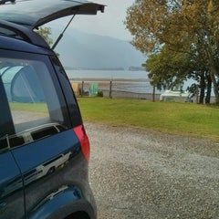 Photo taken at Glencoe Camping and Caravanning Club Site by Jeremy W. on 9/13/2014