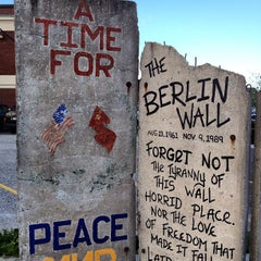 Photo taken at Berlin Wall by Alex C. on 5/24/2013