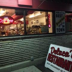 Photo taken at DeLuca's Diner by Blake on 9/21/2013