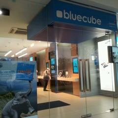 Photo taken at Celcom Blue Cube by Adam Mukhriz on 1/25/2013