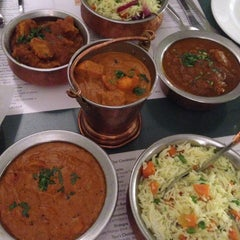 Photo taken at Rasoi Restaurant by Wael H. on 5/15/2014