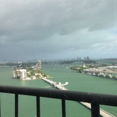 Photo taken at Miami Marriott Biscayne Bay by Bruce S. on 10/26/2012