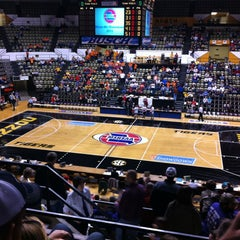 Photo taken at Hearnes Center by George H. on 3/8/2013