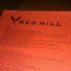 Photo taken at Red Hill by punkrocktacos 7. on 10/14/2012