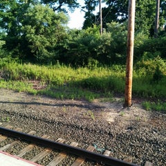 Photo taken at LIRR - Amagansett Station by Fred W. on 6/30/2014