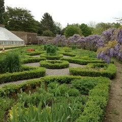 Photo taken at Fulham Palace Gardens by Mark P. on 5/21/2013