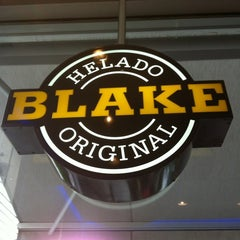 Photo taken at Blake Helado Original by Santiago P. on 12/28/2012