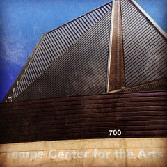 Photo taken at Tempe Center for the Arts by Nick H. on 10/18/2012