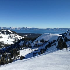 Photo taken at Alpine Meadows Ski Resort by Michael C. on 1/2/2013