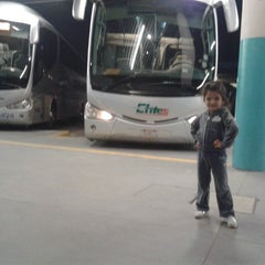 Photo taken at Central de Autobuses by Octavio G. on 5/15/2014