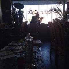 Photo taken at Epic Cafe by Laura O. on 4/17/2015