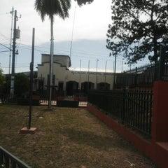 Photo taken at Alcaldía Municipal de Santiago Texacuango by Pedro P. on 6/26/2014