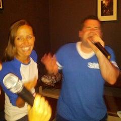 Photo taken at Karaoke Cave by Corey S. on 7/18/2014