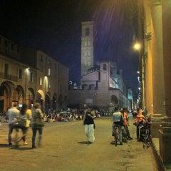 Photo taken at Piazza Verdi by Francesco B. on 9/24/2012