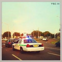 Photo taken at 4th Street & Gandy Blvd by TEC I. on 7/27/2014
